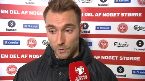 """Christian Eriksen - """"It's not a bad result for us"""" 