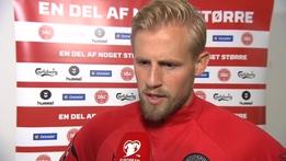 "Kasper Schmeichel - ""Randolph had a great game"" | European Qualifiers"