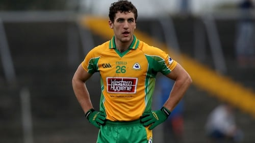 Galway's All-Ireland hurling winner and All Star Daithi Burke was a key figure for the footballers of Corofin
