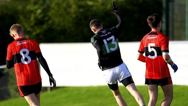 Cork footballer Luke Connolly was on the goal trail for Nemo against Adare