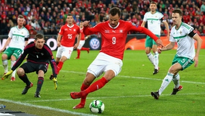Haris Seferovic missed several great chances for the Swiss