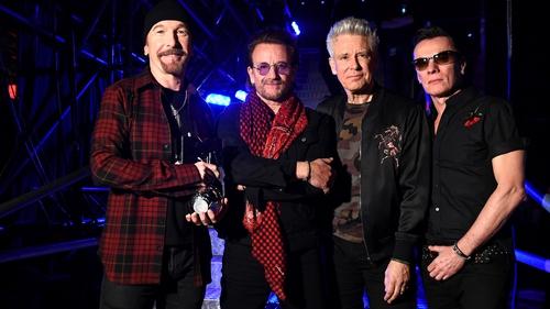 U2 sold 2.71m tickets on tour