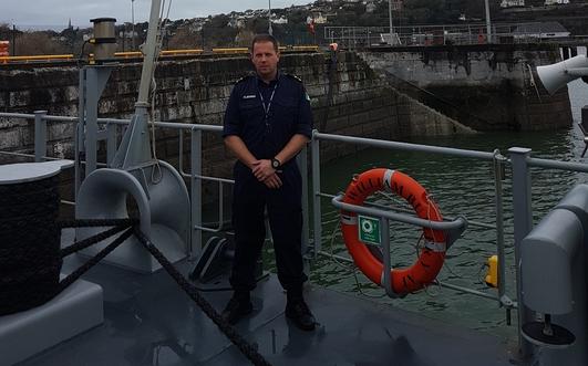 A tour of the Irish Naval Base