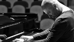 The prolific ECM artist, pianist Stefano Battaglia does a double solo run.