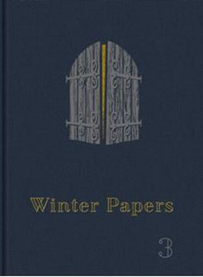 """Winter Papers, Volume 3"", the annual arts anthology"