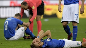 Italy have failed to qualify for a World Cup for first time in 60 years