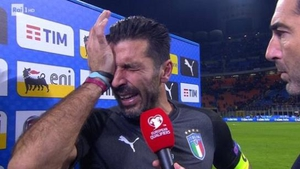 Gianluigi Buffon retired from international football following Italy's failure to reach the World Cup