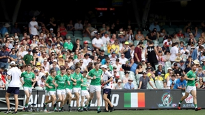 Ireland could be running out to face the Aussies in Philadelphia next year