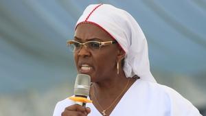 Grace Mugabe has denied assaulting model Gabriella Engels last year