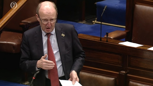 Transport Minister Shane Ross is spearheading the Bill through the Oireachtas