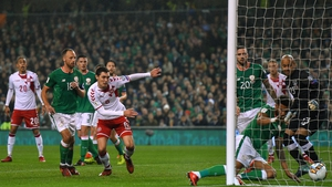 Cyrus Christie scored an own goal when Ireland lost 5-1 to Denmark