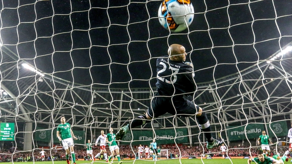 Darren Randolph could do little about the goals