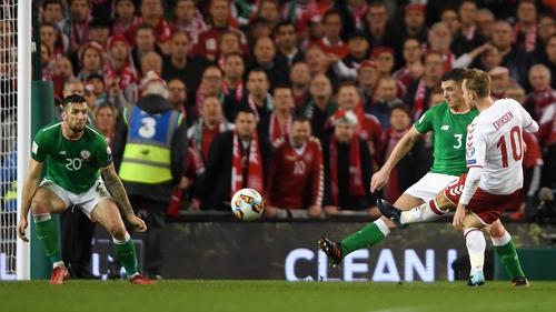 Ireland fans know how dangerous Christian Eriksen can be