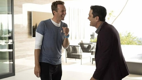 Chris Martin and Ty Burrell in Modern Family