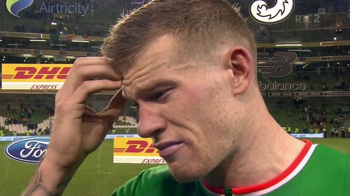 James McClean was left heartbroken by the loss