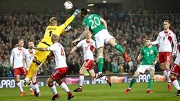 European Qualifier: Republic of Ireland v Denmark