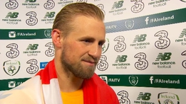 "Schmeichel: ""Fields of Athenry gave me goosebumps"" 