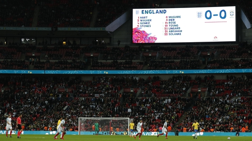 After drawing 0-0 with Germany last week, England again played out a stalemate with a multiple World Champion