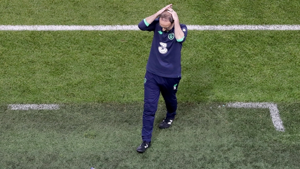 Martin O'Neill was in charge of the Republic of Ireland for 55 games since taking charge in 2013