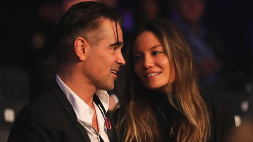 Colin Farrell says he 'adores' girlfriend