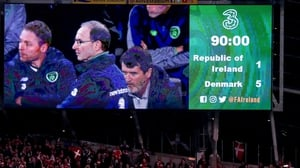 Denmark inflicted the sixth competitive defeat of Martin O'Neill's reign as Ireland manager
