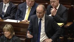 Fianna Fáil lodges motion of no confidence | RTÉ News