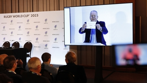 Bill Beaumont announces France as 2023 Rugby World Cup hosts