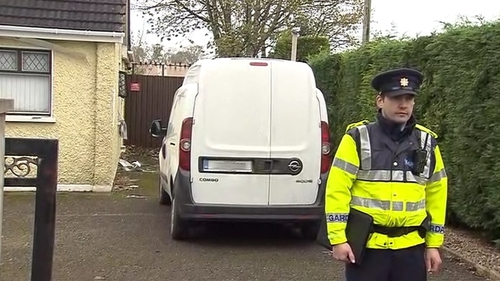 Gardaí were called to the scene shortly after midnight last night