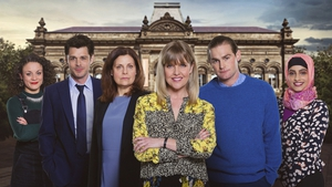 Ashley Jensen heads the cast in new BBC drama Loves, Lies & Records
