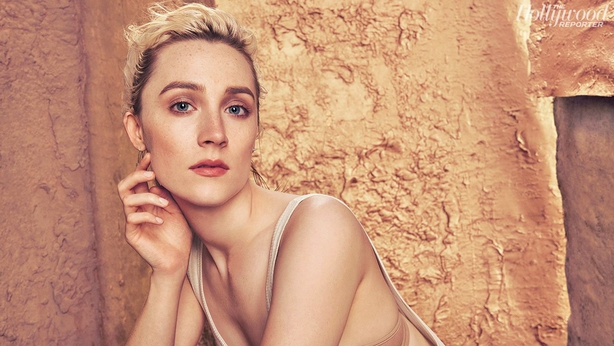 Saoirse was pictured by Ruven Afanador for The Hollywood Reporter in November
