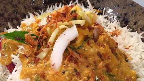 Sunil's Prawn Green Mango Curry