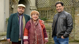 Auntie Mariam and Uncle Arshad with Masood - EastEnders fans have been promised