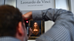 'Da Vinci painting' sells for record $450m in New York auction | RTÉ News