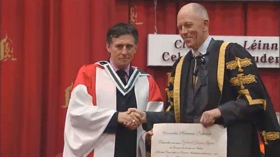 Doctor of Arts Gabriel Byrne