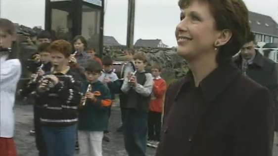 President McAleese Visits The Aran Islands