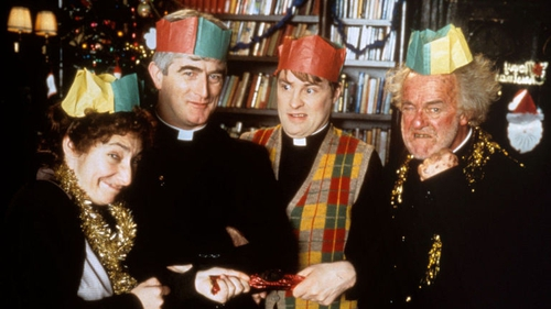 You cannot miss the Father Ted Christmas Special. It's a must every year