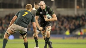 Devin Toner retains his place in the Ireland team