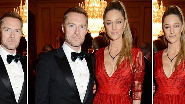 Storm and Ronan Keating attend The Leopard Awards