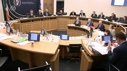 The Public Accounts Committee heard that €13,000 was spent on a retirement party for former CIT president Dr Brendan Murphy