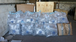 Gardaí seized an estimated €7 million worth of drugs at two industrial units in Ashbourne
