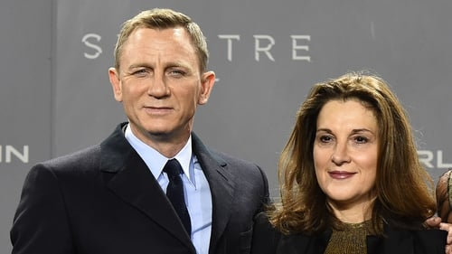 Daniel Craig pictured with Barbara Broccoli