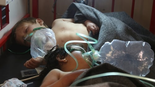 The sarin attack on Khan Sheikhoun killed dozens and injured many more including children