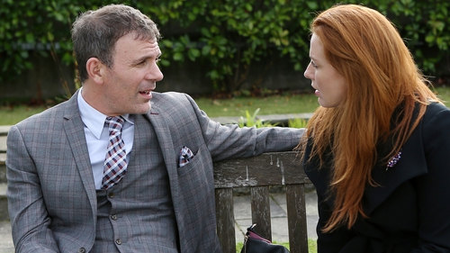 Niamh is taken aback when Marcus says he isn't back in Carrigstown to see her
