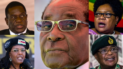 Robert Mugabe has led Zimbabwe for decades, but now he's under pressure from all sides