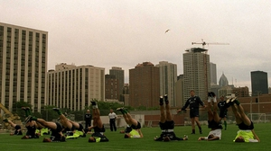 Ireland training in Chicago for the Nike Cup in 2000