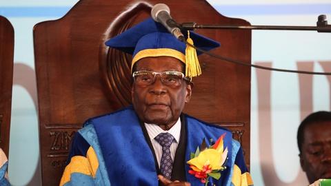Mugabe makes public appearance in Zimbabwe   RTÉ News