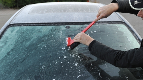 Motorists warned to be careful while defrosting windscreens
