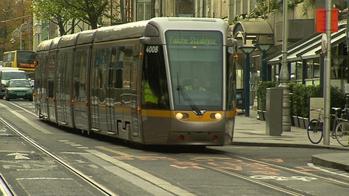Passenger services on the new Luas line will scheduled to begin on 9 December