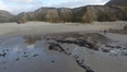 Second beach reappears on Achill Island