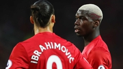 Paul Pogba (r) and Zlatan Ibrahimovic could play against Newcastle